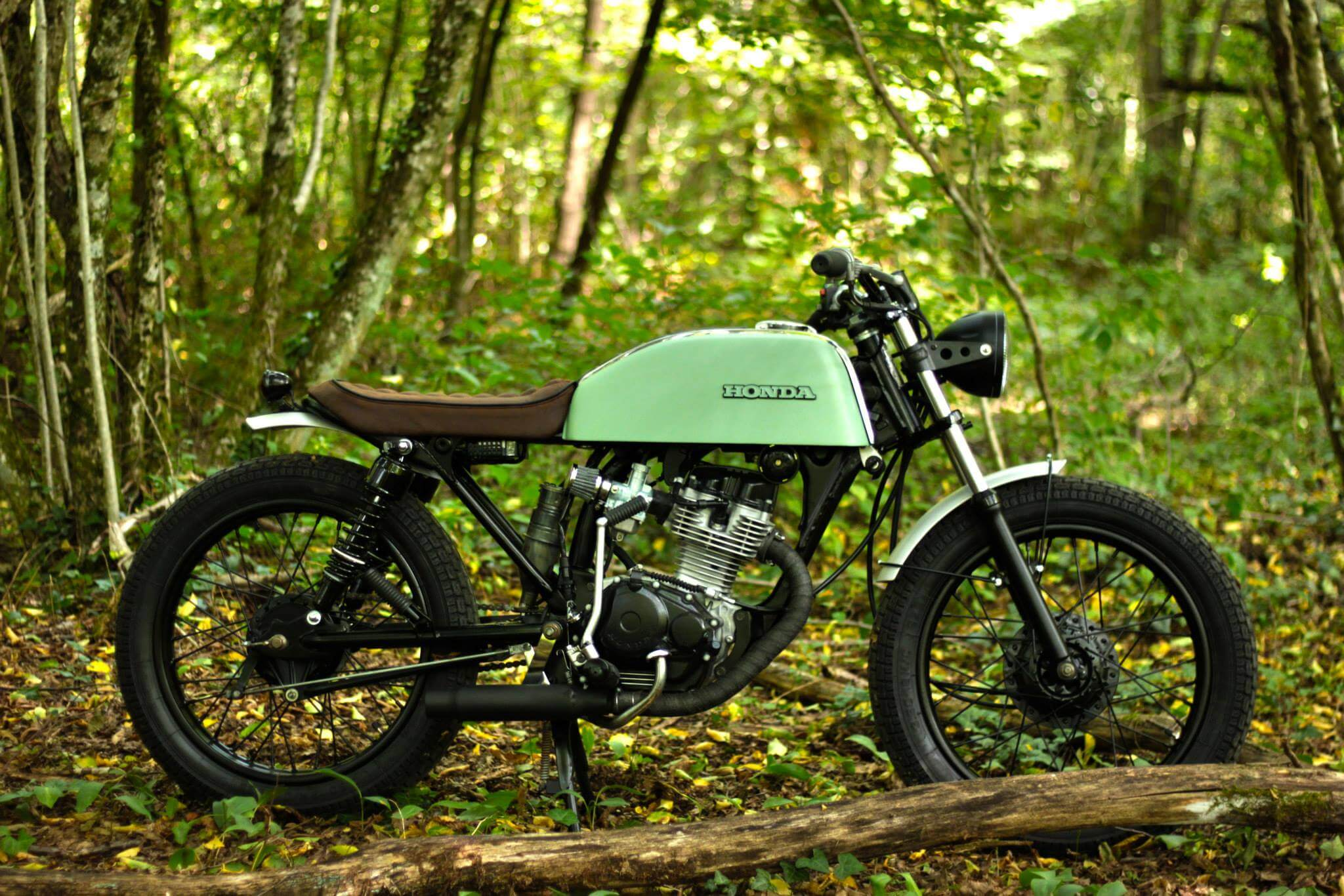 Honda Cb 125 Cg By Frenchmonkeys Bikebrewers Com