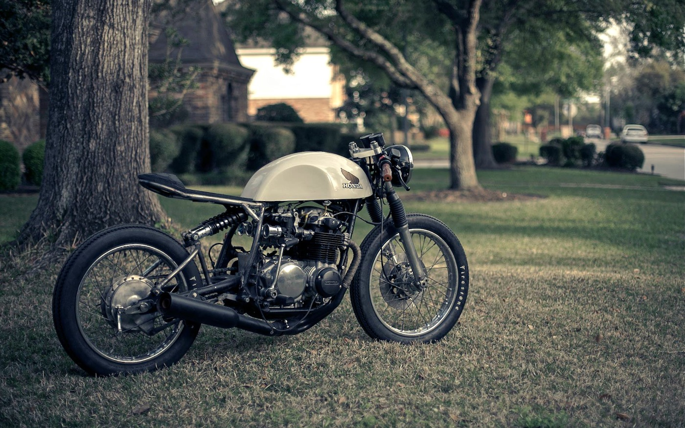 Honda CB500 Café Racer by Kinetic - BikeBrewers.com