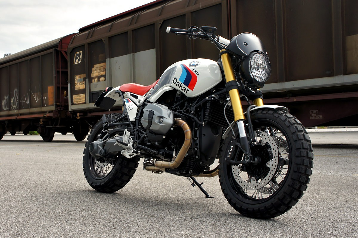 bmw r ninet scrambler by luismoto. Black Bedroom Furniture Sets. Home Design Ideas