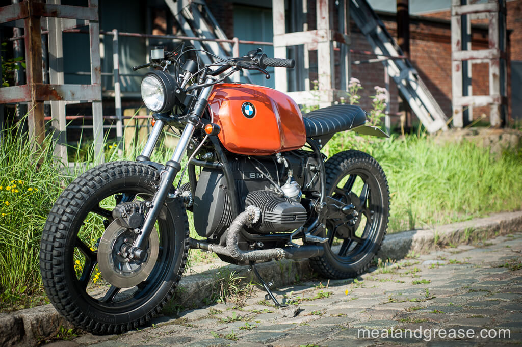BMW R65RT Scrambler by Meat and Grease