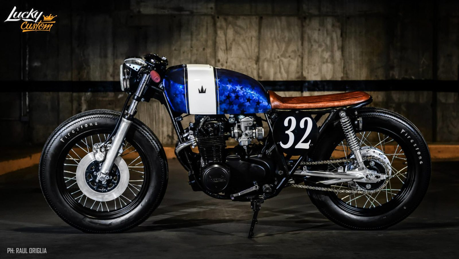 Cb550 Caf 233 Racer By Lucky Custom Bikebrewers Com