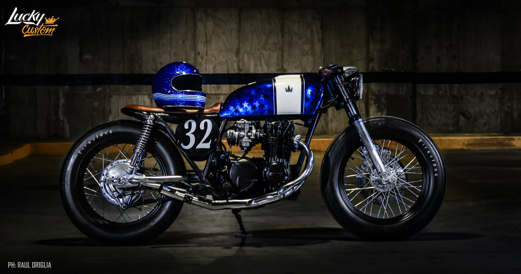 Cb550 Cafe Racer By Lucky Custom on cb750 four cafe racer