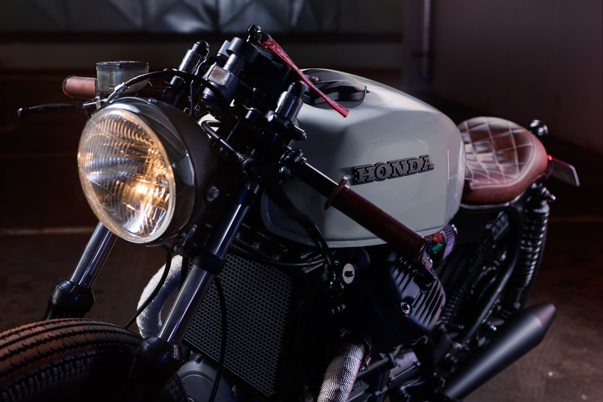 Honda Cx500 By Custom Eightyone Bikebrewers Com