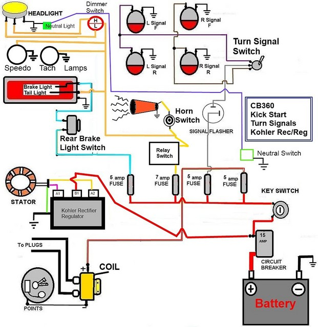 Café Racer Wiring - BikeBrewers.com on it 250 wiring diagram, virago wiring diagram, xs360 wiring diagram, xs650 wiring diagram, v-star 650 classic wiring diagram, xs850 wiring diagram, fz700 wiring diagram, xvz1300 wiring diagram, motorcycle wiring diagram, fj1100 wiring diagram, xv535 wiring diagram, yzf r6 wiring diagram, yamaha wiring diagram, qt50 wiring diagram, xj750 wiring diagram, xj550 wiring diagram, xs1100 wiring diagram, ninja 250 wiring diagram, goodall start all wiring diagram, xt350 wiring diagram,