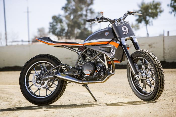 KTM 690 Tracker by Roland Sands Design