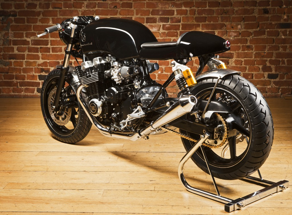 honda cb750 cafe racer by rewheeled. Black Bedroom Furniture Sets. Home Design Ideas