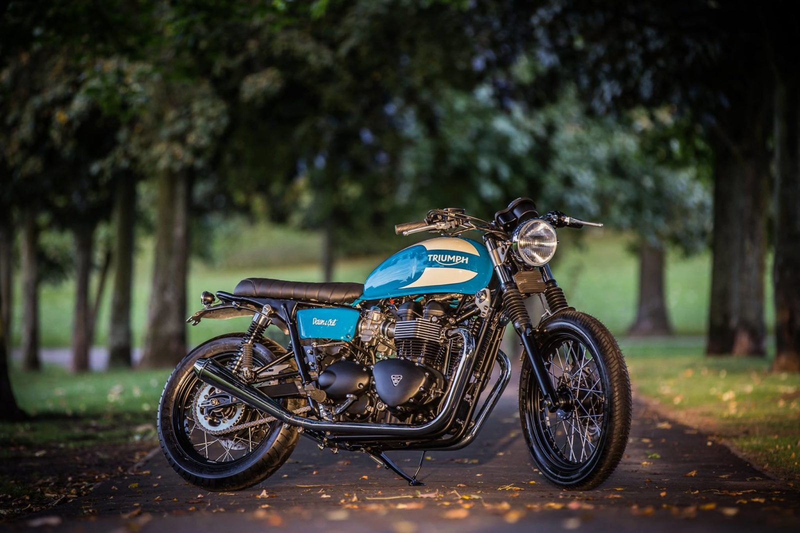 Triumph T100 Bonneville by Down & Out