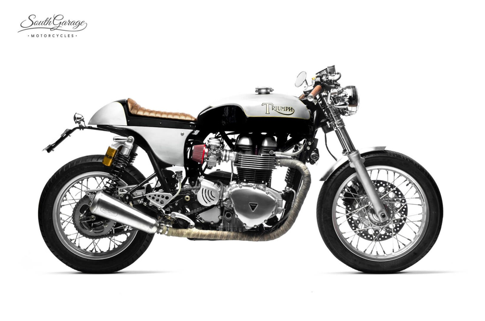 Triumph Truxton Café Racer by South Garage