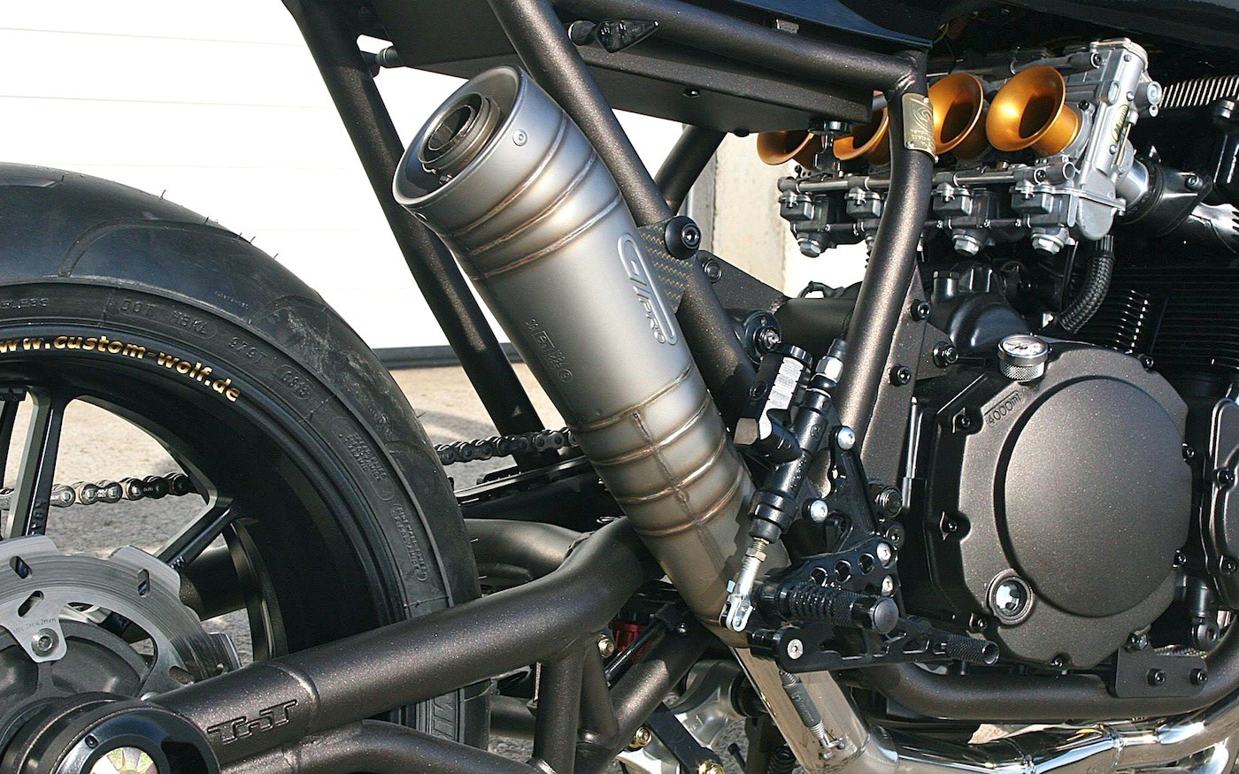 GSXR Custom Exhaust
