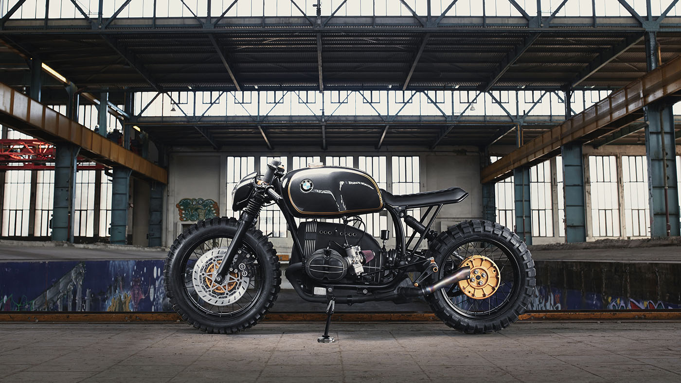 Continental Bike Tires >> BMW R100R Café Racer by Diamond Atelier