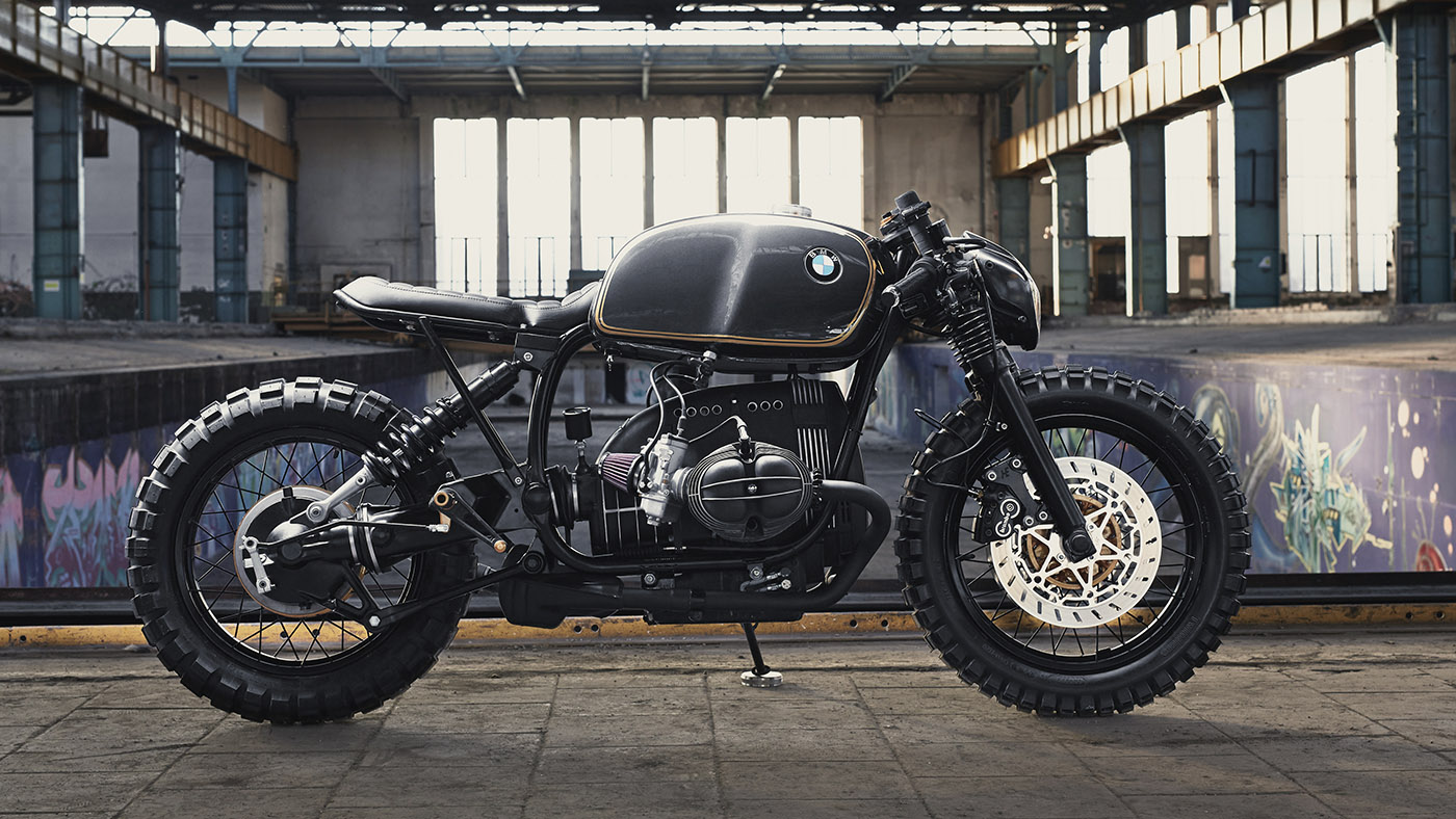 Bmw R100r Cafe Racer By Diamond Atelier