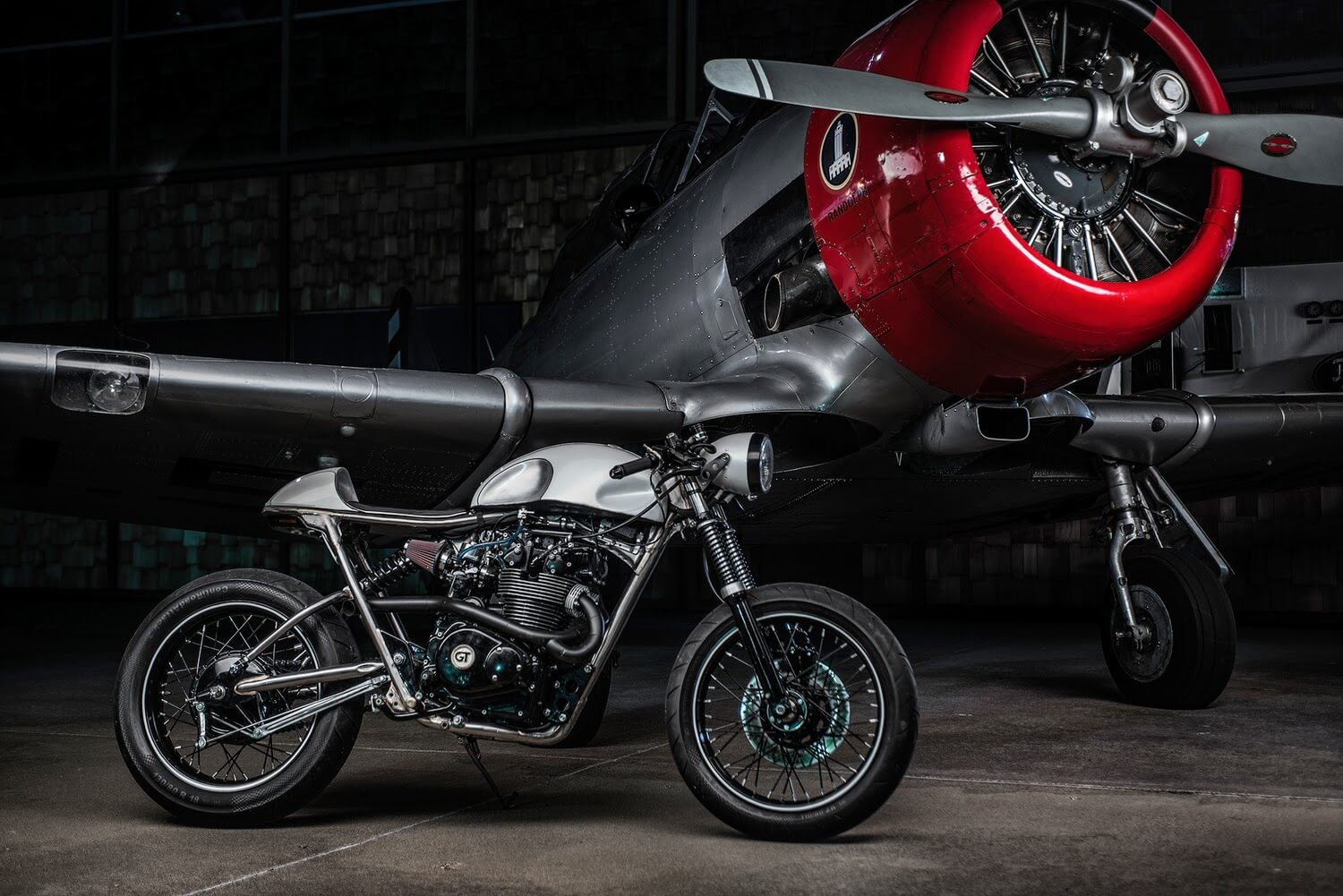 Honda Cb Cafe Racer By Gt Moto