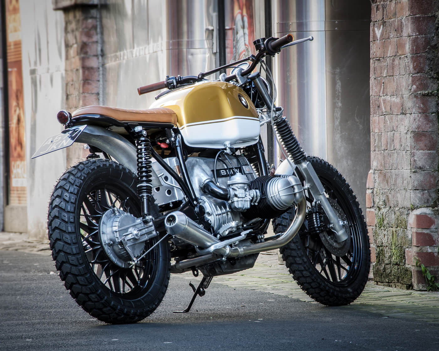bmw r80 scrambler by down out. Black Bedroom Furniture Sets. Home Design Ideas