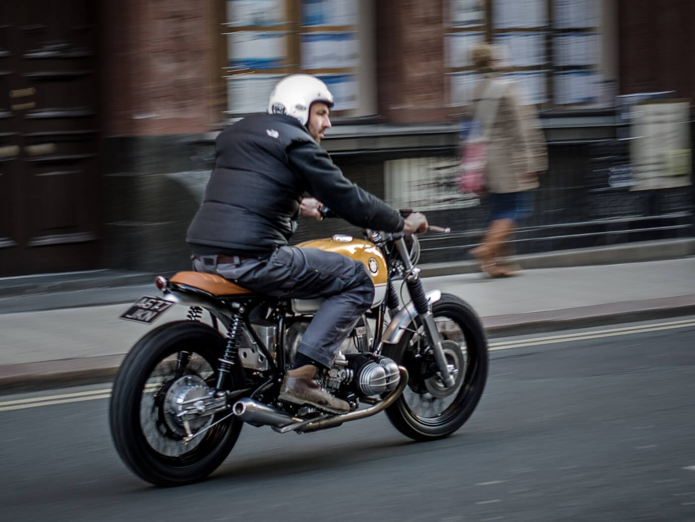 BMW R80 Scrambler by Down & Out
