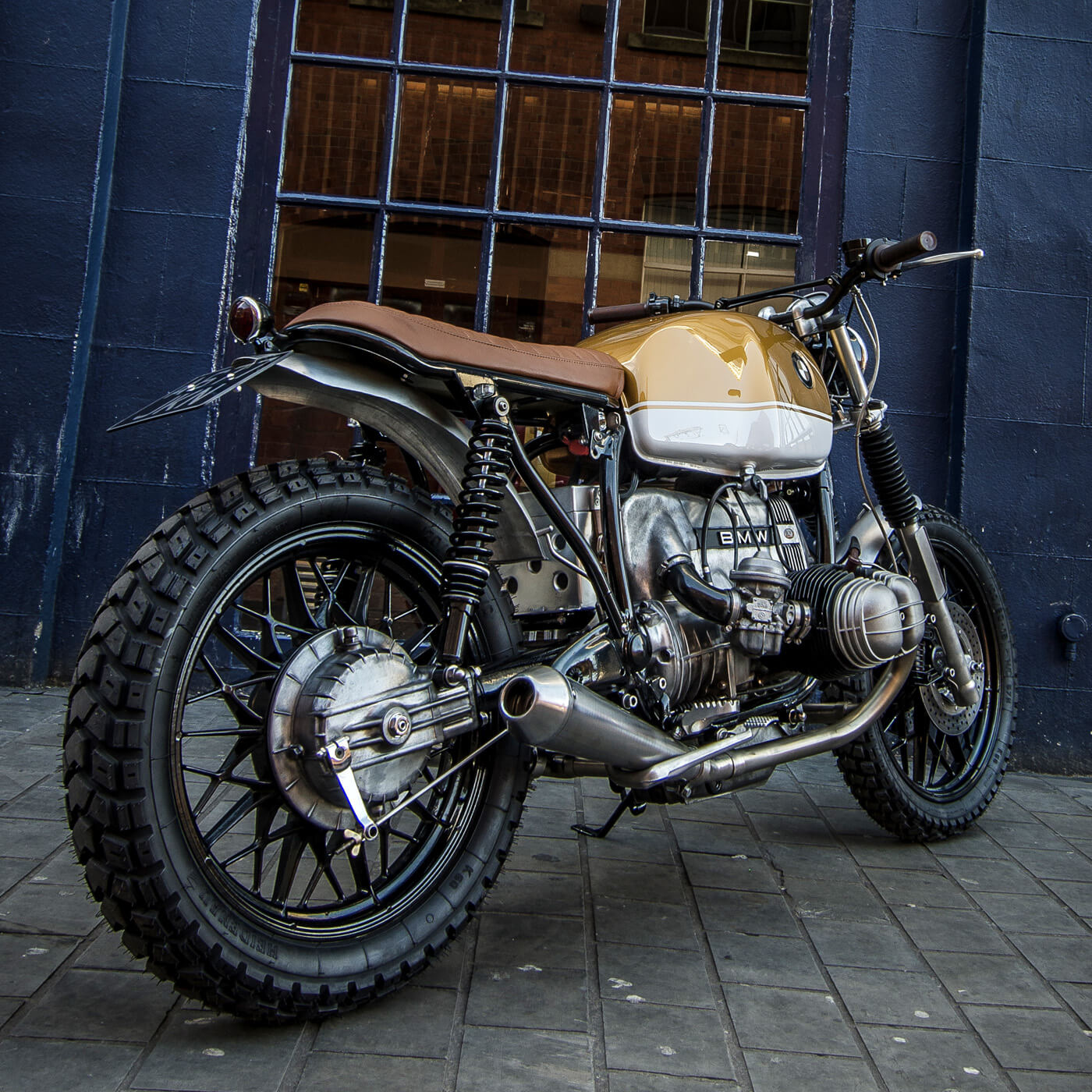 BMW R80 Scrambler by Down & Out 2