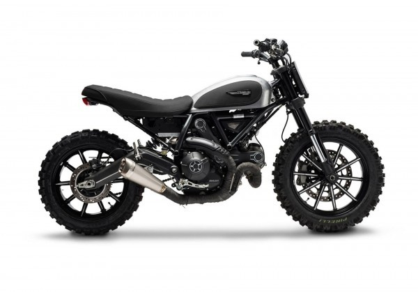 Ducati Scrambler Dirt Tracker by Gessato