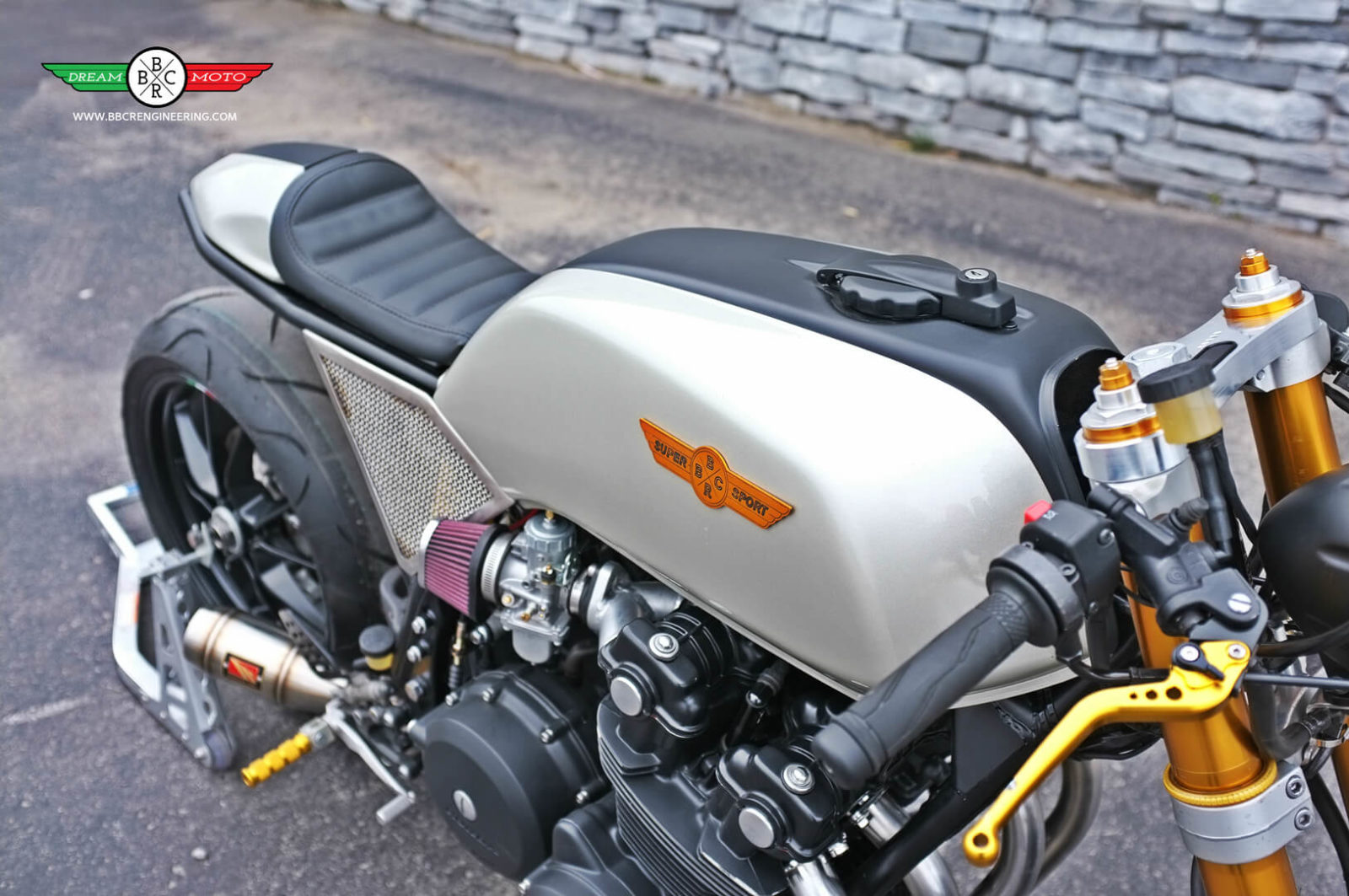 honda cb cafe racer  bbcr engineering