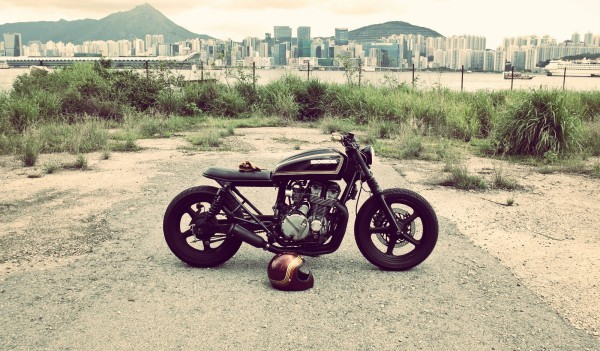 Honda Cb750 Bratstyle By Wesley Hannam Bikebrewers Com