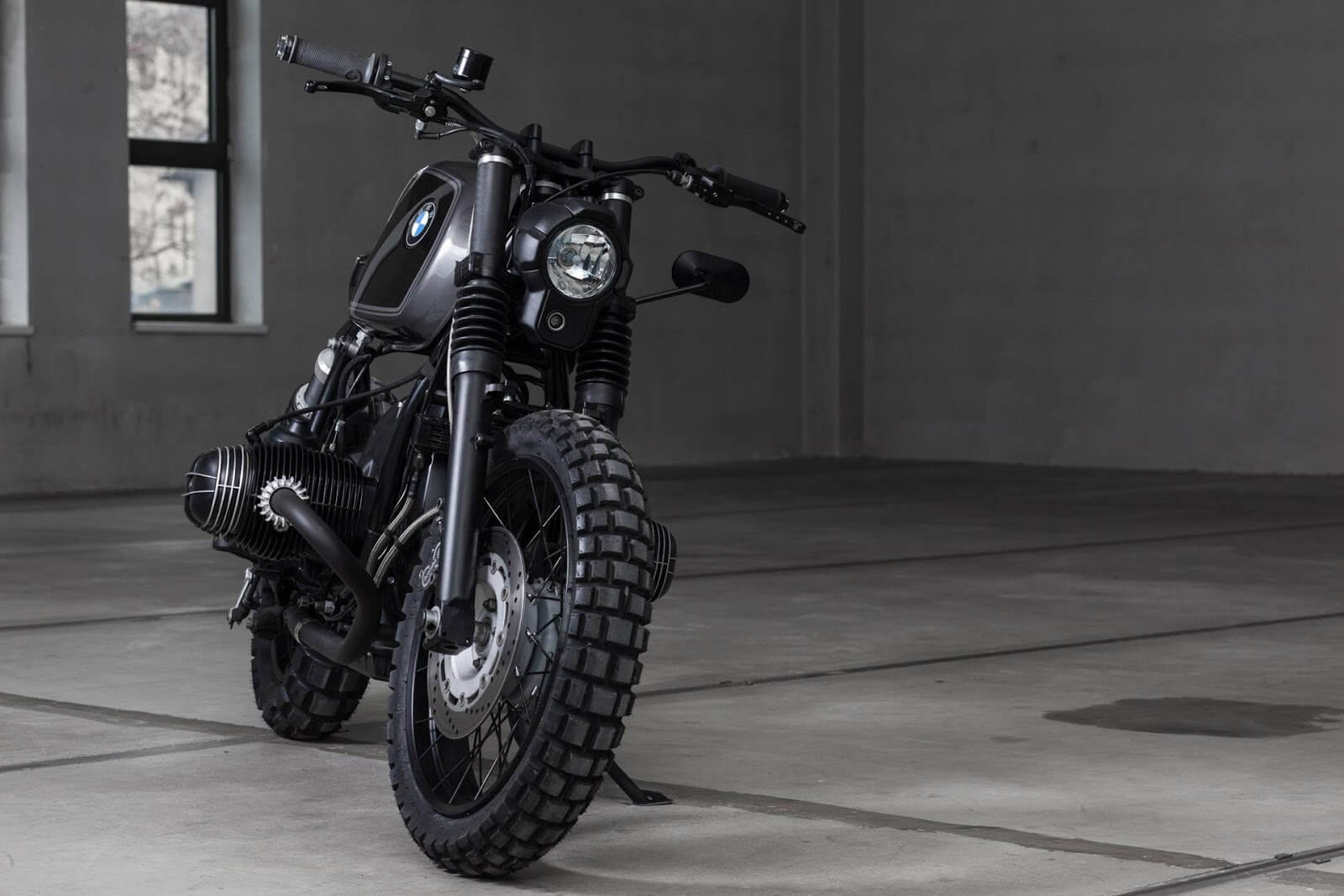 bmw r100r scrambler caf racer by vagabund. Black Bedroom Furniture Sets. Home Design Ideas
