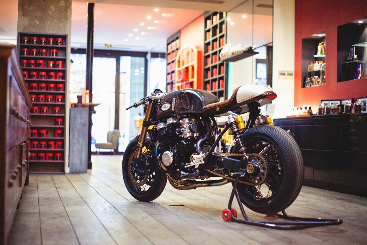 Cb750 caf racer by oficina mrs for Oficinas race