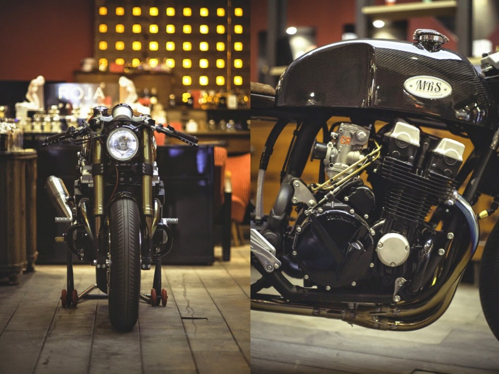 The base bike was a 1980 xs650 in a very poor state cylinders where - Cb750 Caf Racer By Oficina Mrs 3