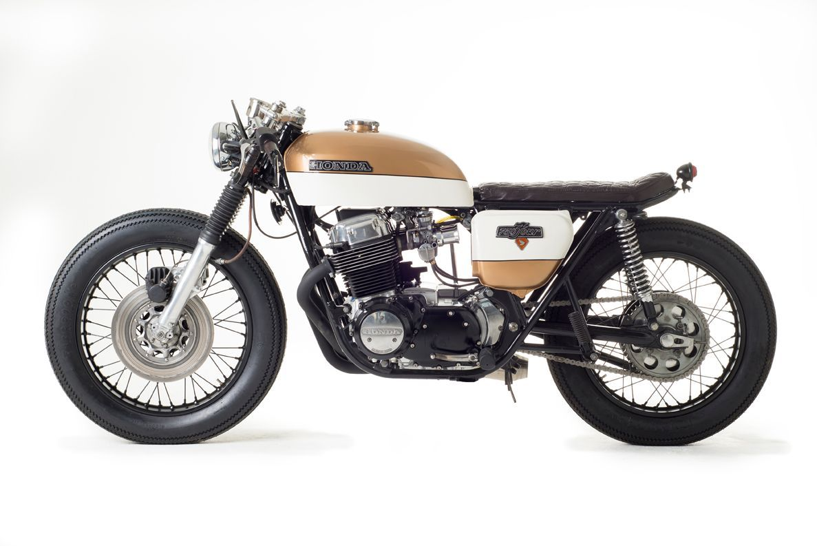 Build Your Own Honda >> CB750 Four Café Racer | BikeBrewers.com