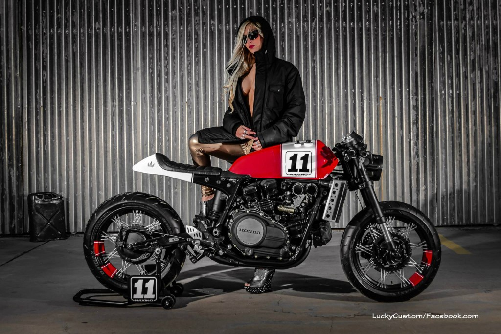 Honda Vf750 Caf 233 Racer By Lucky Custom Bikebrewers Com