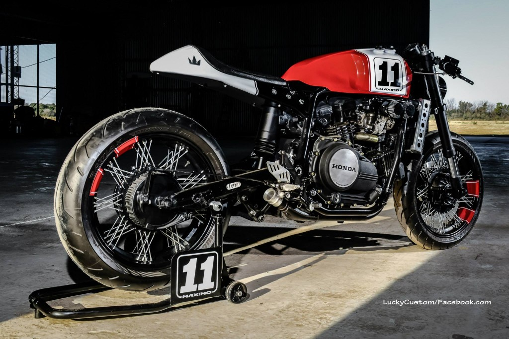 Honda VF750 Cafe Racer 9