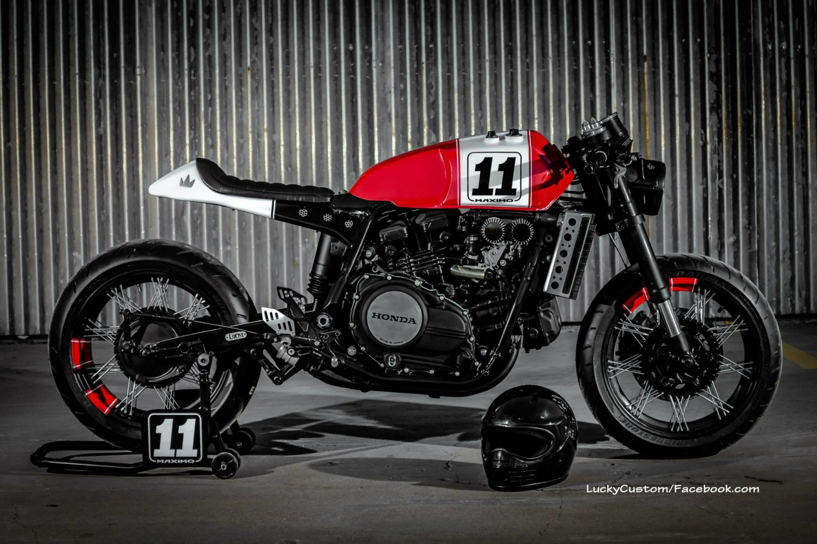 Honda VF750 Cafe Racer By Lucky Custom