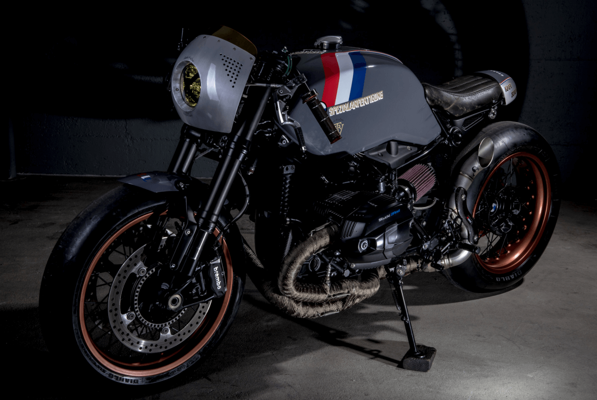 Bmw R Nine T Custom >> BMW R NineT Custom by VTR Customs | BikeBrewers.com