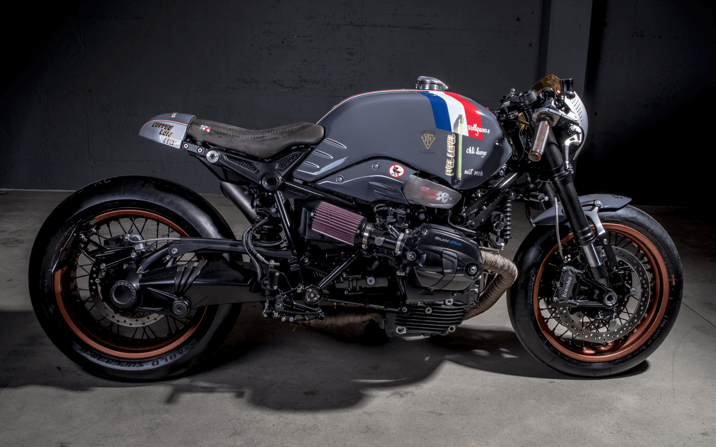 bmw r ninet custom by vtr customs