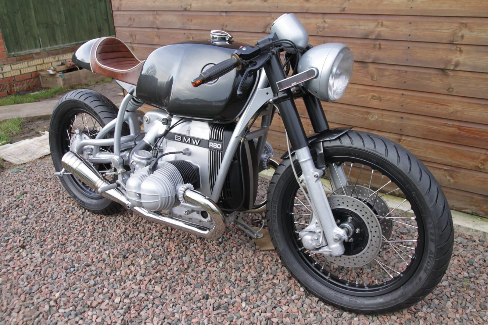 Ultra Clean BMW R80 Café Racer by Craig Jones ...