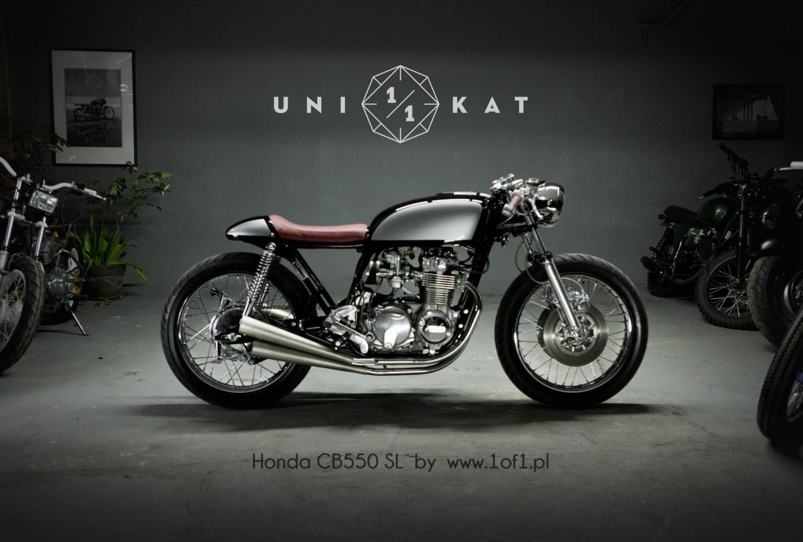 Honda CB550 SL Custom by Unikat