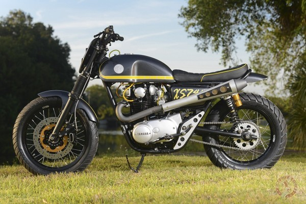 Yamaha XS650 Scrambler by Dime City Cycles | BikeBrewers com