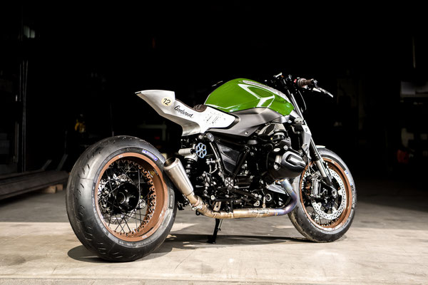 BMW R1200R Cafe Racer 4