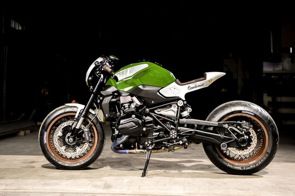 BMW R1200R Cafe Racer 8