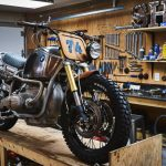 BMW R90 Scrambler by Garage Sherrif 14
