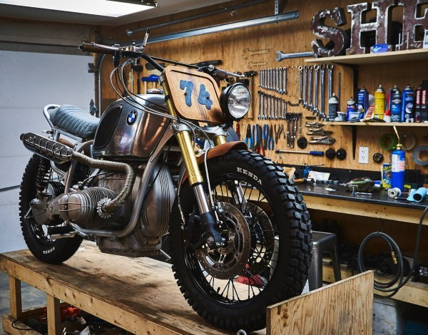 bmw r90 scrambler by garage sherrif. Black Bedroom Furniture Sets. Home Design Ideas