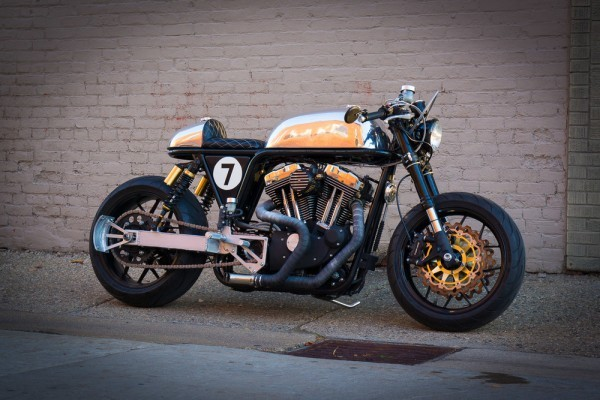Harley Sportster Cafe Racer by Ardent Motorcycles