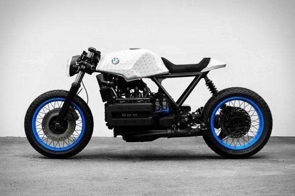 bmw k100 cafe racer by impuls. Black Bedroom Furniture Sets. Home Design Ideas