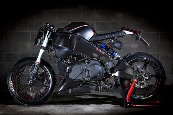 Buell Xb9 Caf 233 Racer By Iron Pirate Garage Bikebrewers Com