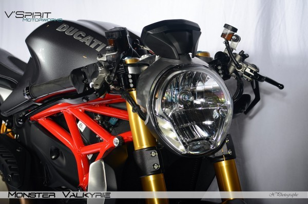 Ducati Monster 1200 Custom 6
