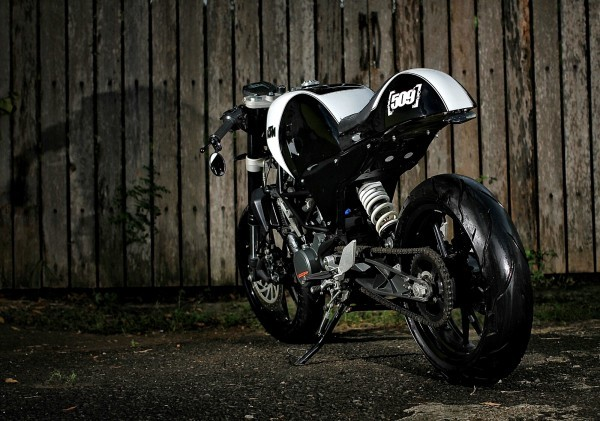 KTM Duke 200 Cafe Racer 3
