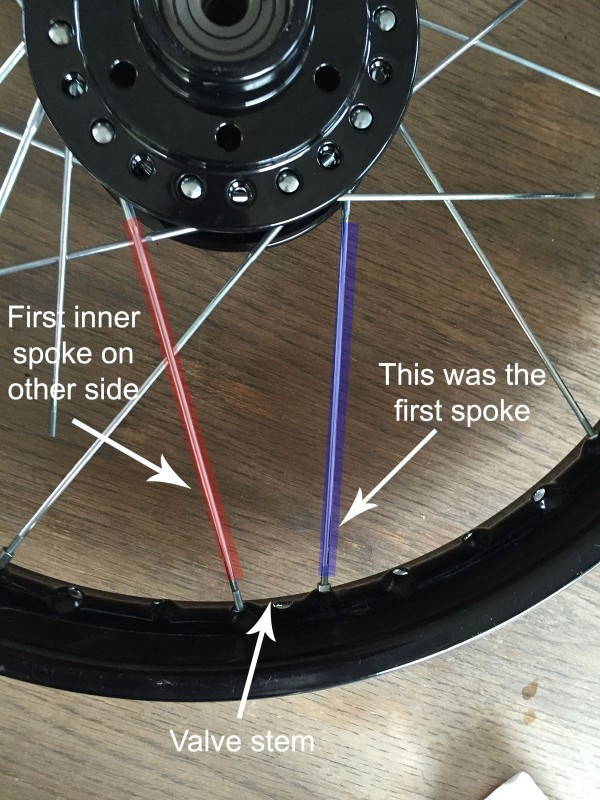 How to Lace a Motorcycle Wheel   BikeBrewers com