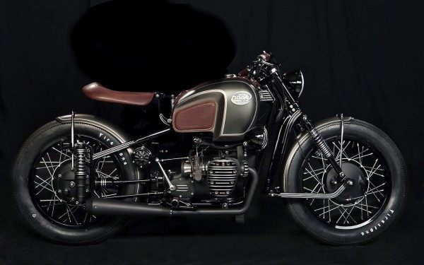 From Russia With Love Custom Ural M 72 Bikebrewers Com