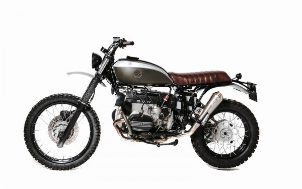BMW R100GS Scrambler by Officine Sbrannetti