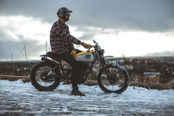 Yamaha XT500 Scrambler by 6/5/4 Motors