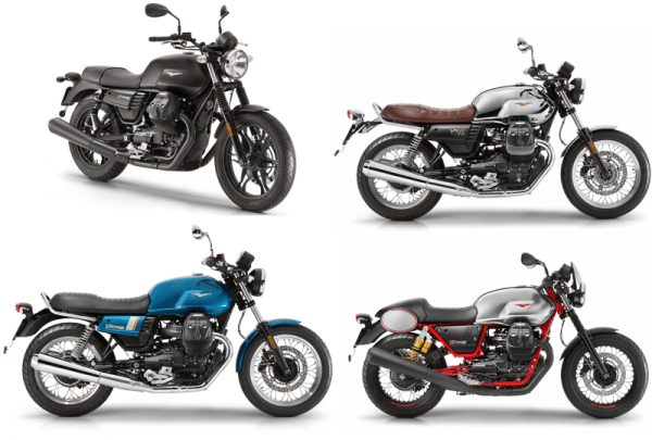 Moto Guzzi Introduces New V7 Mark Iii Series Bikebrewerscom
