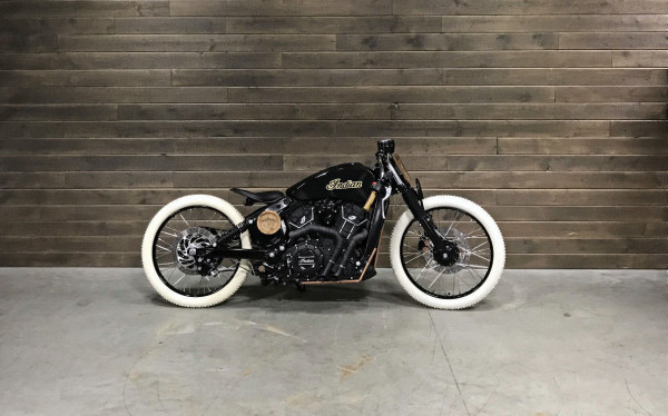 Indian Scout Jack Daniels Edition