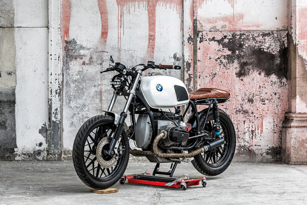 BMW R45 Street Tracker by Dirty Garage